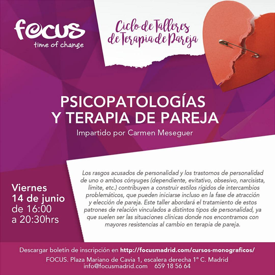 Psicopatologías y Terapia de Pareja - Carmen Meseguer