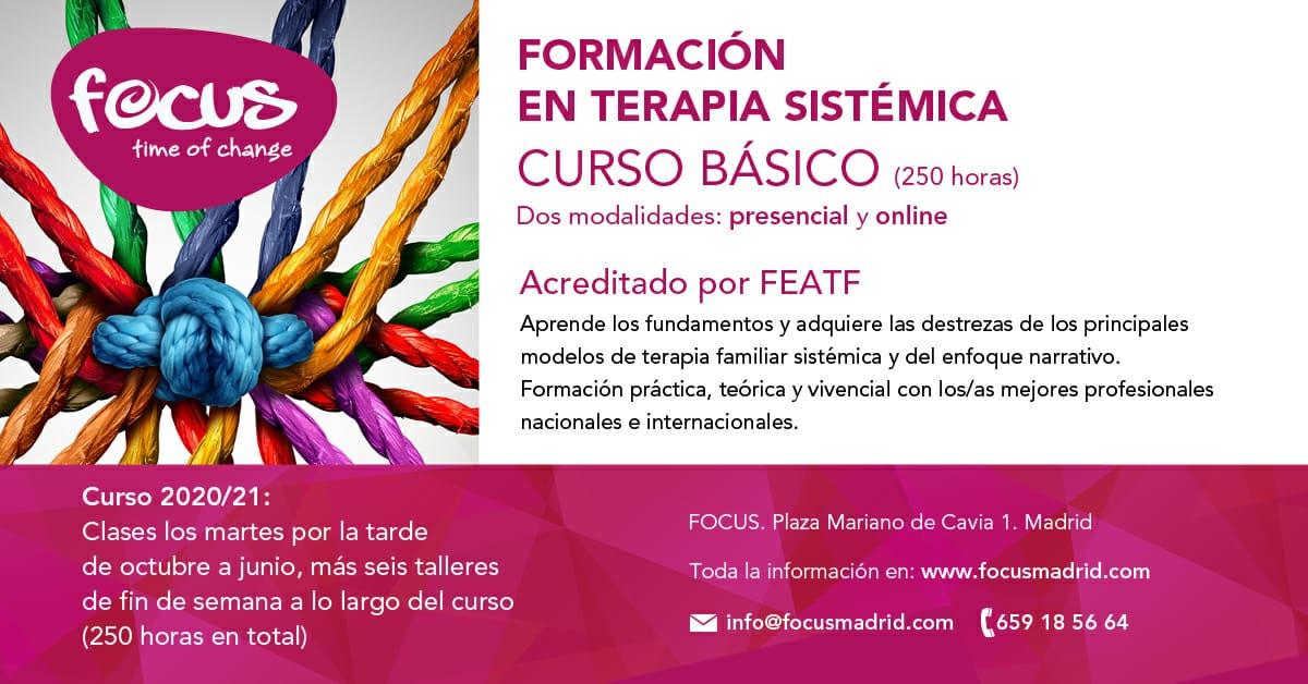 CURSO BÁSICO - Formación en Terapia Sistémica